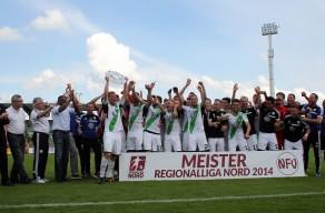 FUSSBALL - Wolfsburg vs Hamburg, RL Nord