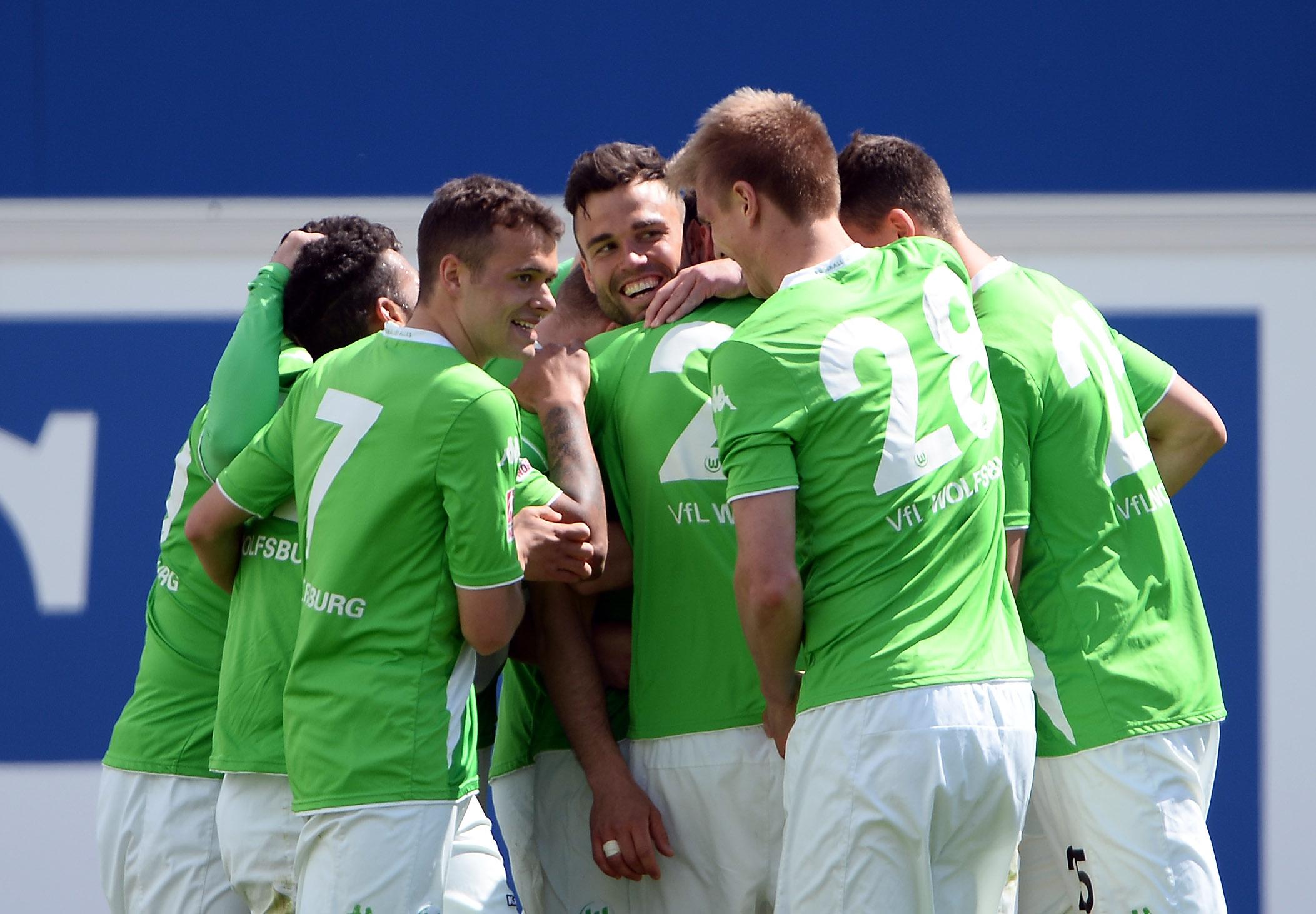 FUSSBALL - Wolfsburg vs Bremen, RL Nord