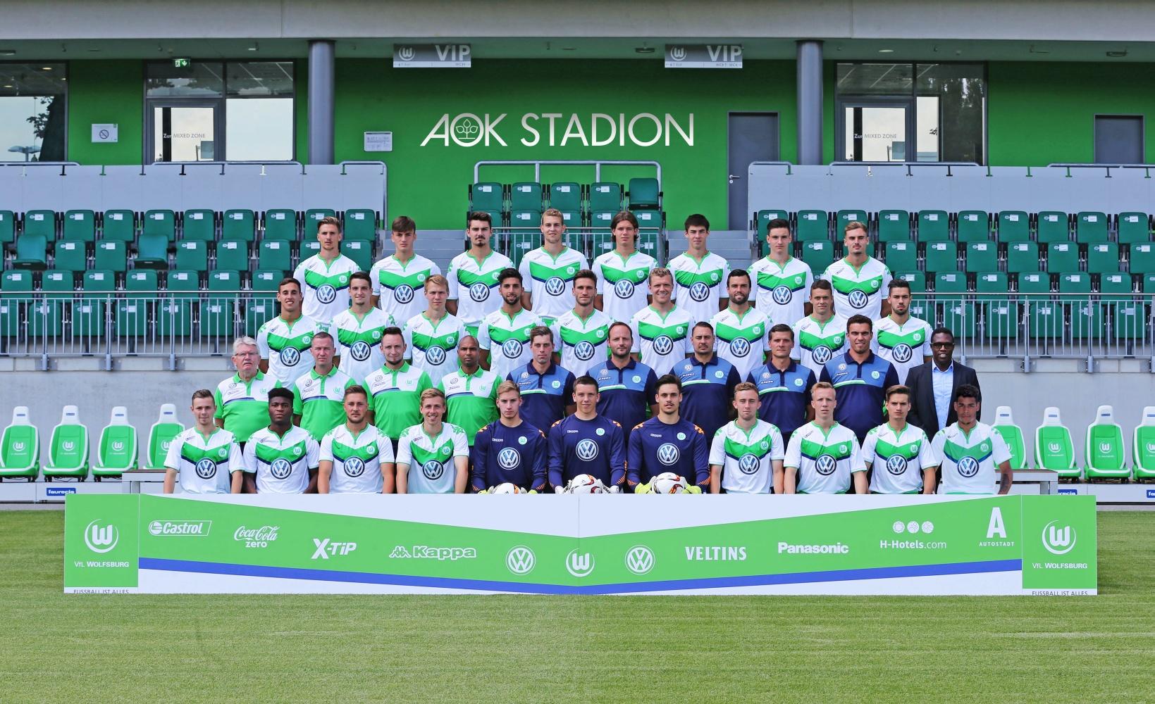 Die U23 Mannschaft der Saison 2015/16