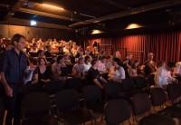 Blick ins Publikum.
